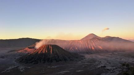 Sunrise am Mt. Bromo